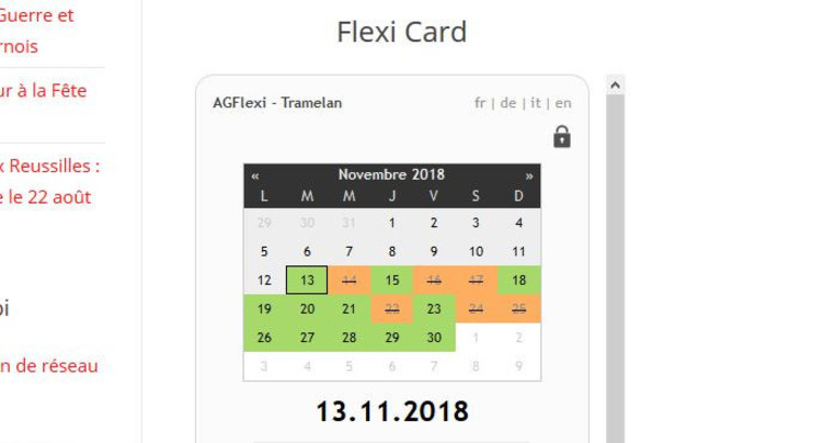 Tramelan ne vendra plus de Flexi Cards