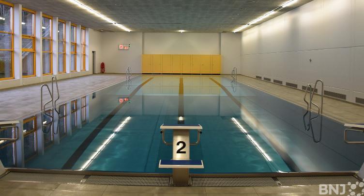 Une piscine toute neuve à Cernier