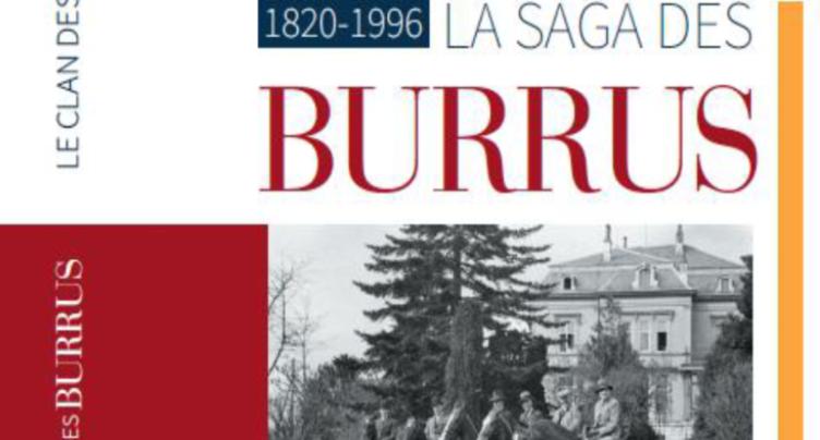 La famille Burrus au centre d'un nouvel ouvrage