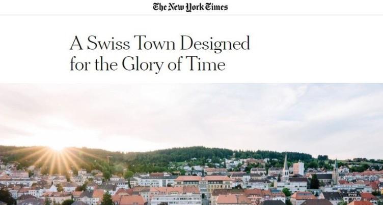 La Tchaux à l'honneur dans le New York Times