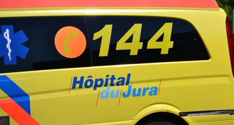 Un accident, trois blessés au Cerneux-Veusil