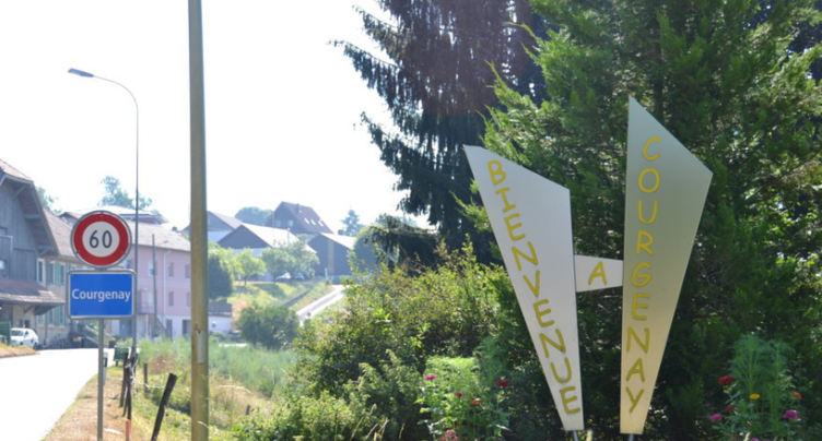 La halle de gymnastique de Courgenay vandalisée
