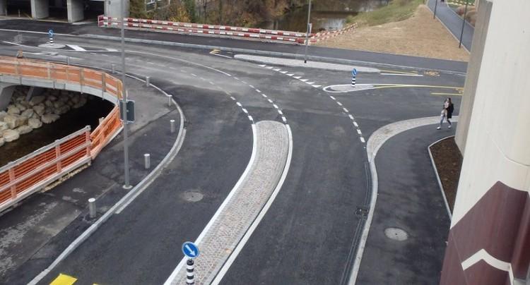 Réouverture du Chemin de Bellevoie à Delémont