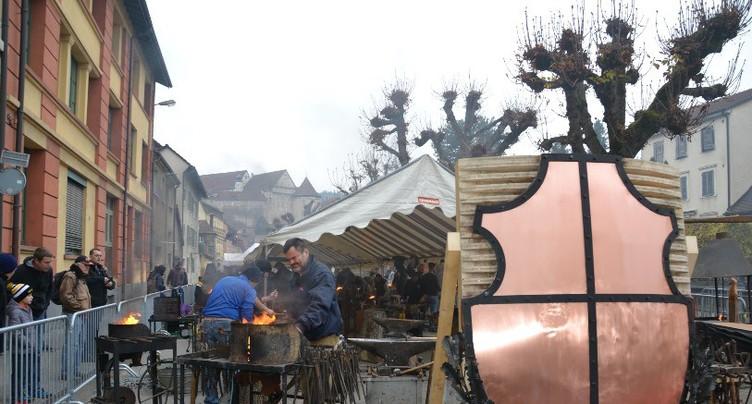 Le bruit du marteau et de l'enclume à Porrentruy