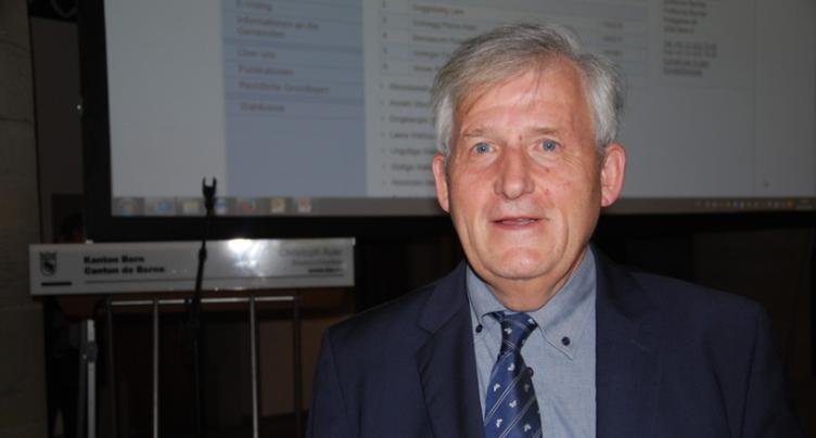Hans Stöckli se représente au Conseil des Etats