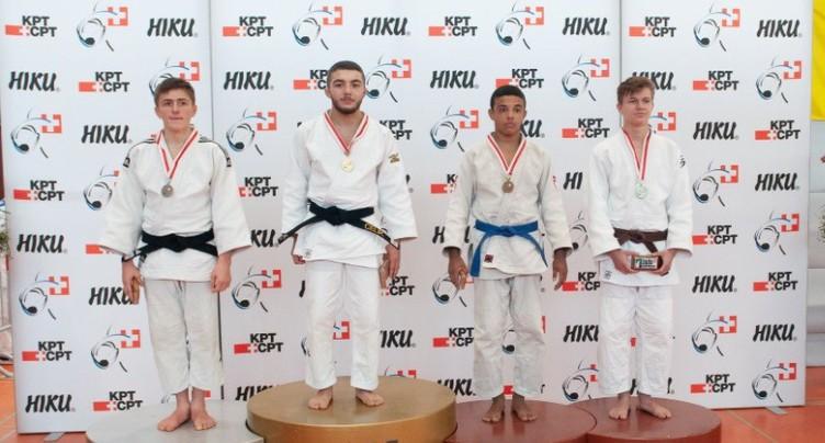 Un week-end en or pour le judo régional