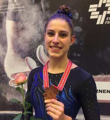 Chloé Wermeille accroche le bronze au niveau suisse