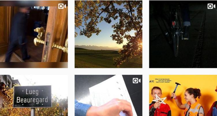 Instagram pour rapprocher jeunes et canton