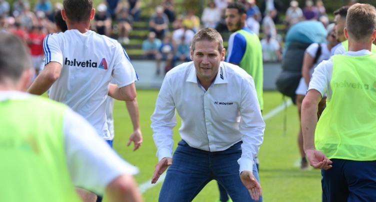 Alain Villard reste à la barre du FC Moutier