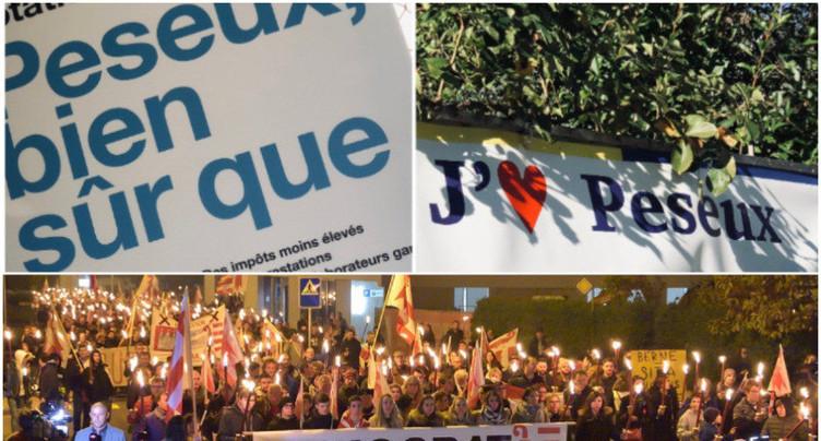 Moutier et Peseux: la démocratie mise à l'épreuve