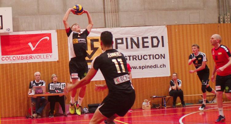 Colombier Volley perd en championnat mais brille en Coupe de Suisse