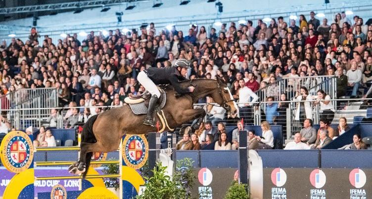 Belle 2e place pour Steve Guerdat à Madrid