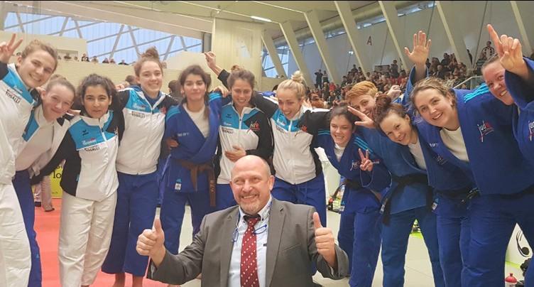 Les filles du JC Cortaillod championnes de Suisse