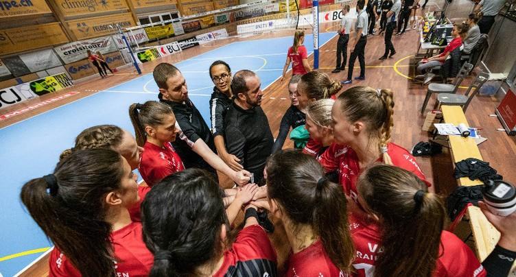 Le VFM face à Kanti Schaffhouse en play-off