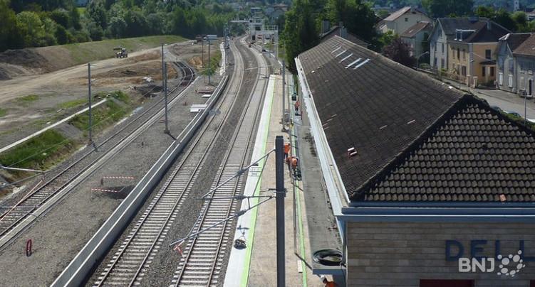 Vers un mieux pour la ligne Bienne – Delémont – Belfort
