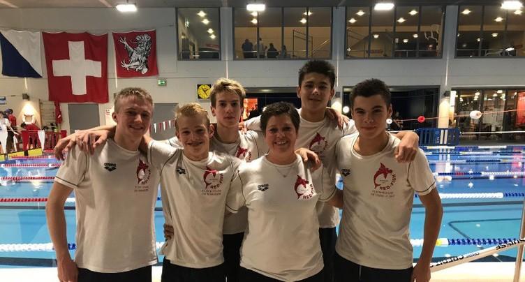 Les jeunes du Red-Fish champions