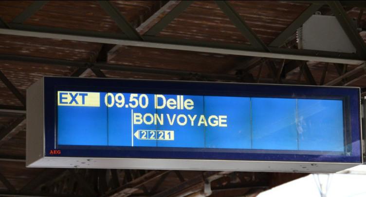 La ligne Delle-Belfort a attiré les curieux
