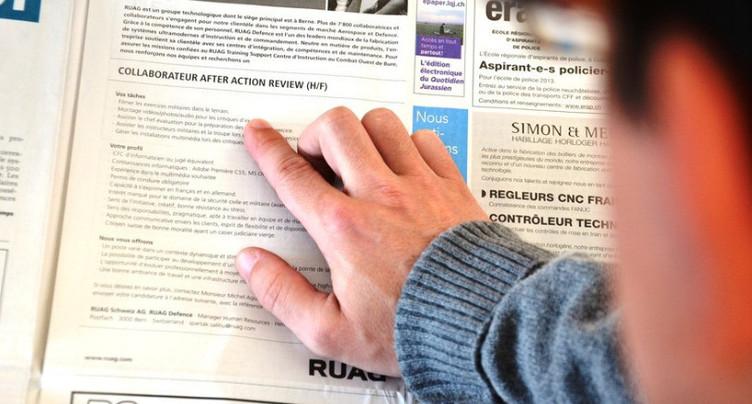 Le taux de chômage reste stable dans le Jura