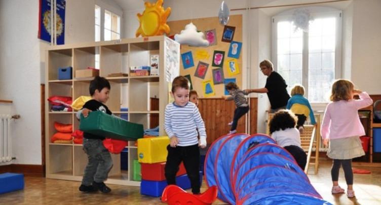 Les crèches de la région sensibles à l'activité physique