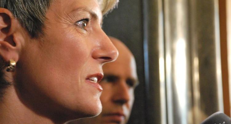 Karin Keller-Sutter reprend le dossier « Moutier »