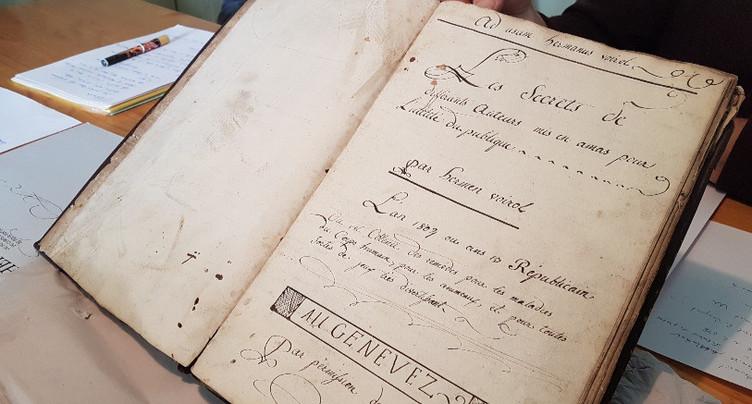 Des vieux remèdes de 1804 refont surface dans un livre
