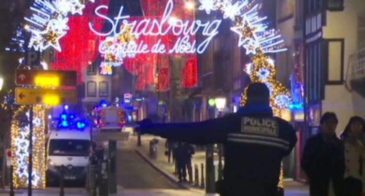 Le suspect de l'attaque de Strasbourg abattu