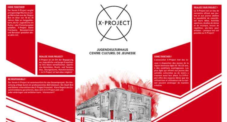 Bienne renouvelle son soutien au X-Project