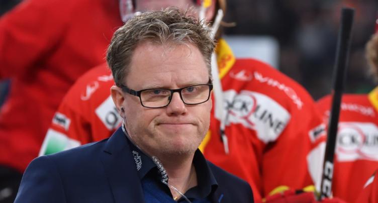 Anders Olsson reste au HC Bienne
