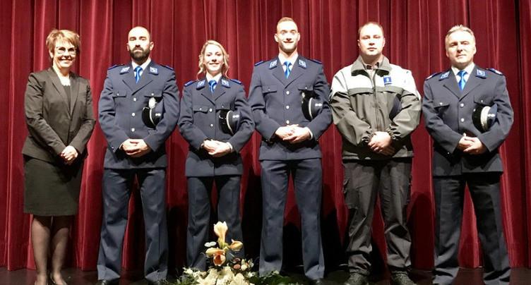 De nouveaux policiers dans le Jura