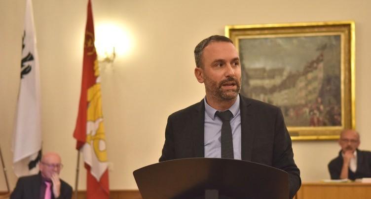 Johan Perrin est le nouveau président du Conseil de ville de Porrentruy