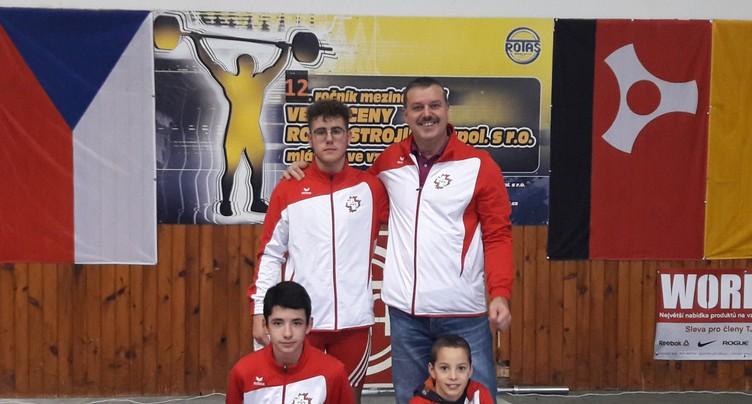 Des haltérophiles se montrent en République Tchèque