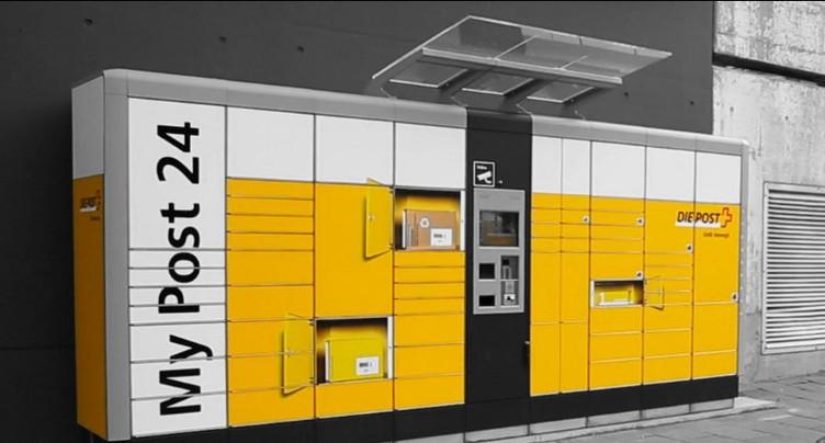 La poste réorganise ses automates à Bienne