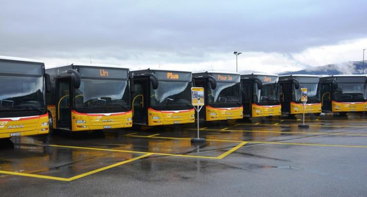 La gestion des transports publics dans le Jura présentée à Berne