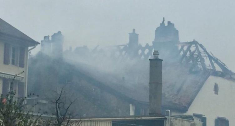 Incendie d'Auvernier : coupable mais pas sanctionnée