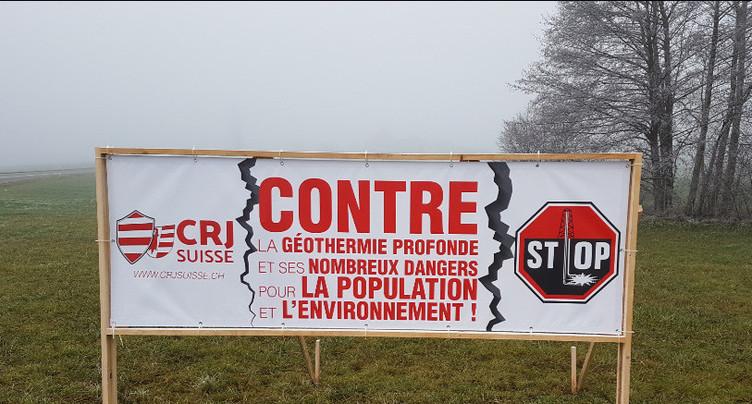 Une campagne d'affichage contre la géothermie