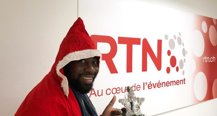Good Morning Neuchâtel: le Noël de Christian Mukuna