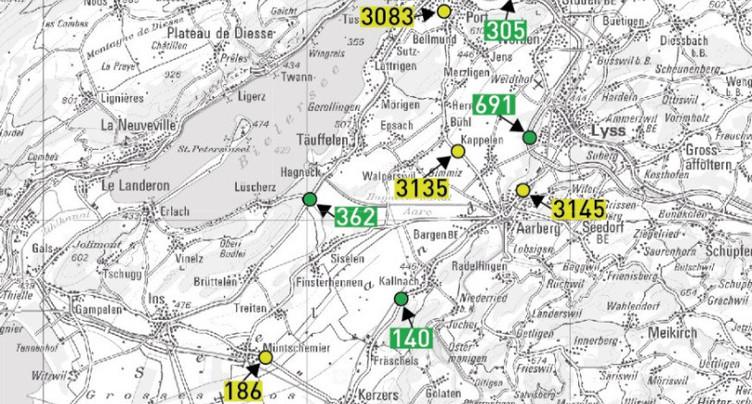 Contournement Est de Bienne par l'A5 : pas d'effets dans le Seeland