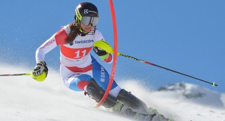 Nouveau podium en slalom pour Wendy Holdener