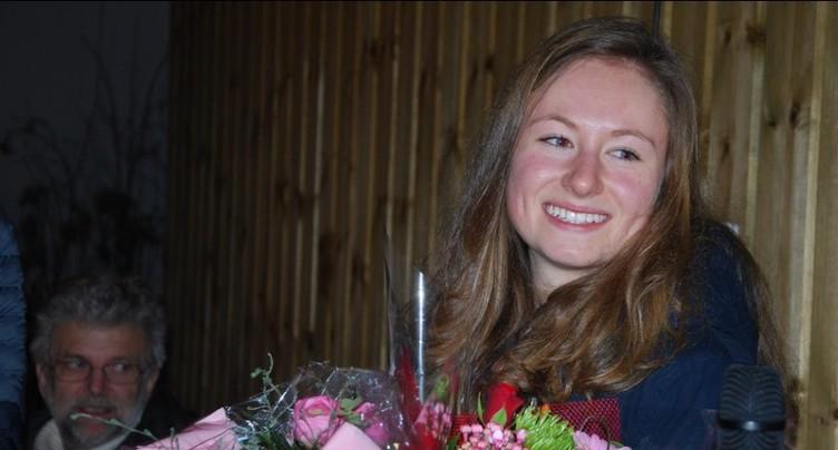 Marianne Fatton en bronze par équipe