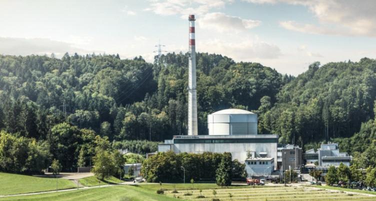 Mühleberg : les éléments combustibles transférés