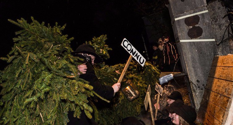 « Les Sauvages font sensation à Altstätten »