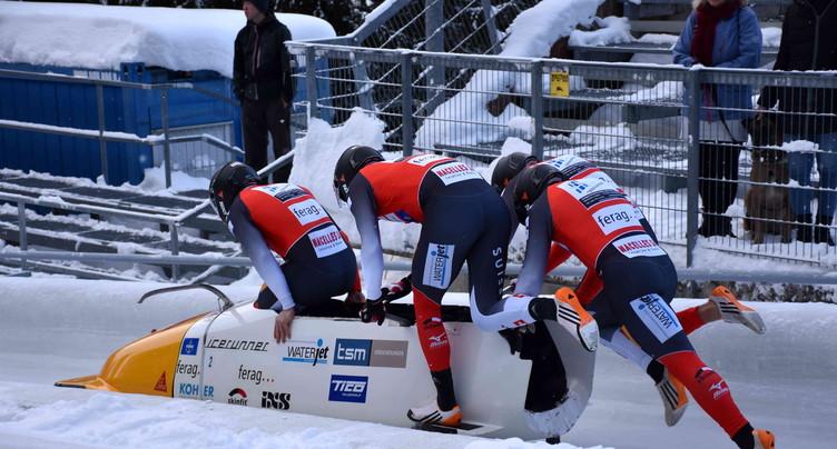 Yann Moulinier hors glace à Sigulda