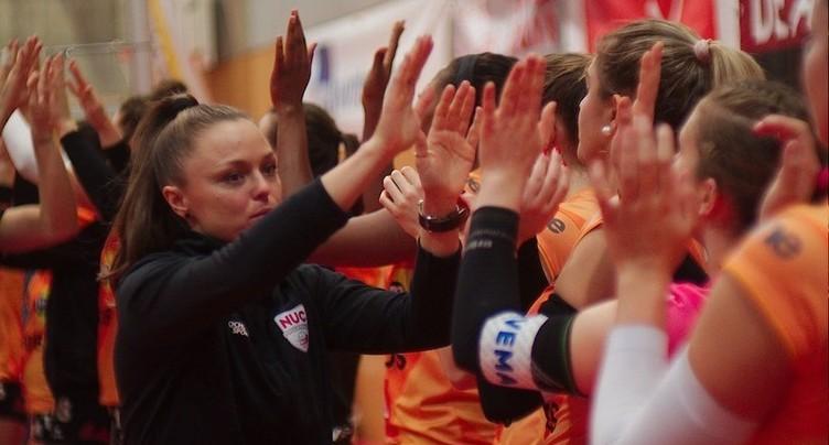 NUC-Lugano en quarts de finale des play-off