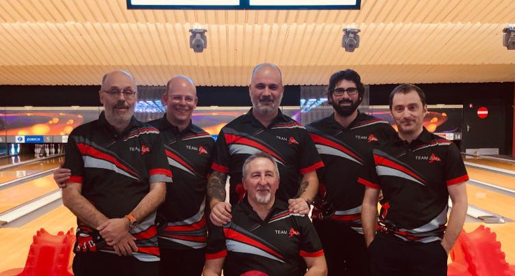 Grégory Chopard fait coup double aux championnats jurassiens de bowling