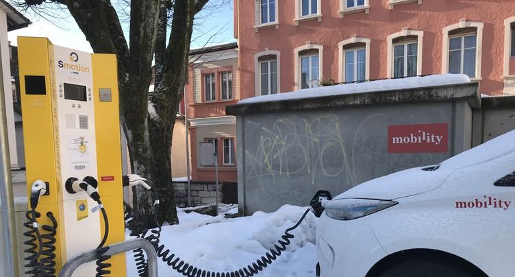 Un nouveau véhicule électrique en libre-service à St-Imier