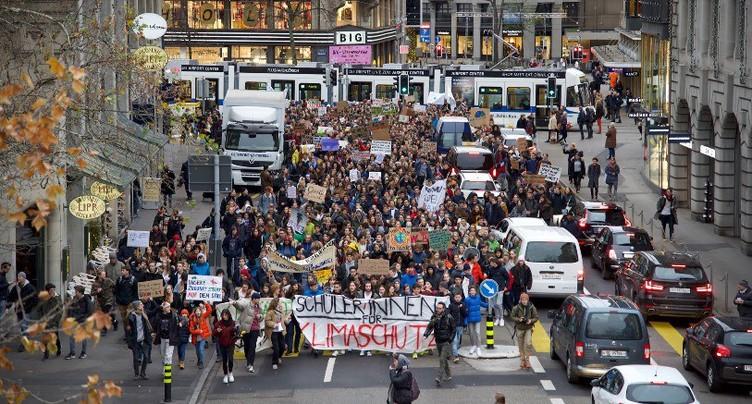 Bienne : la grève pour le climat s'invite au Conseil de ville