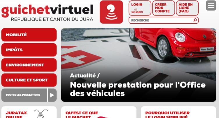 Le canton de Soleure rejoint le guichet virtuel du Jura