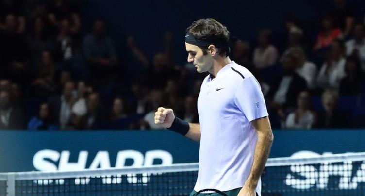 Federer se qualifie sans trembler pour les huitièmes de finale