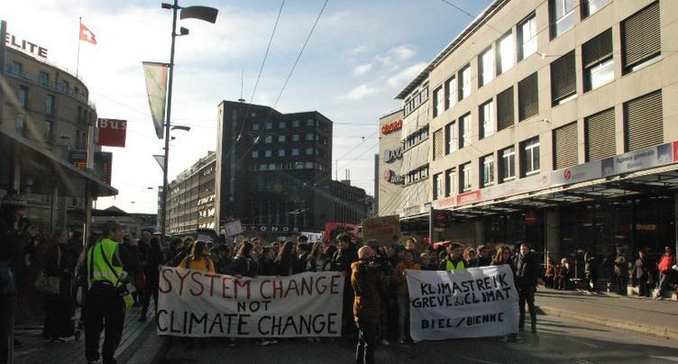 Les jeunes biennois se mobilisent pour le climat