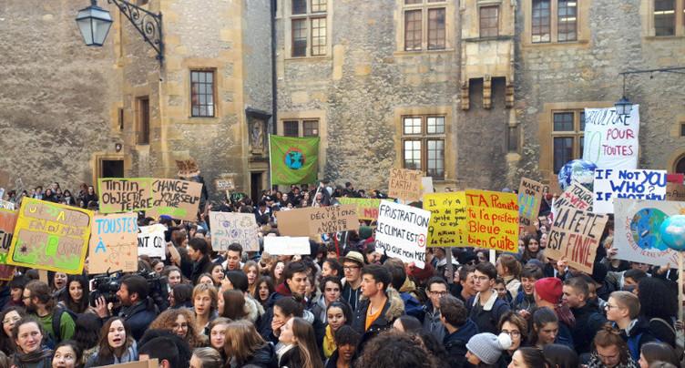 Les jeunes Neuchâtelois fortement mobilisés pour le climat